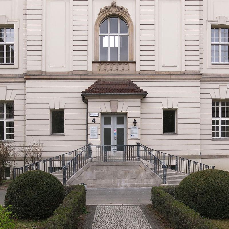 Restaurierung Geländer Deutsches Herzzentrum