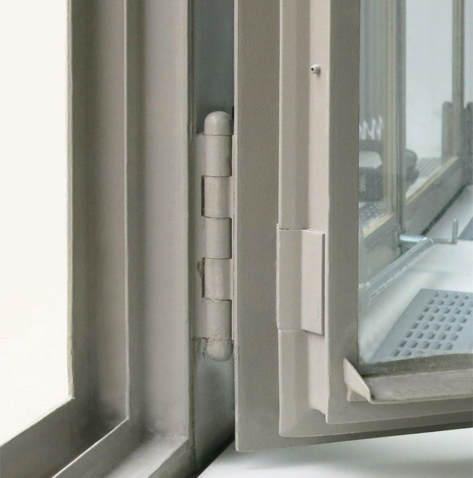 Ertüchtigung des Fenster-Verbundes in den ehem. Askania Werken