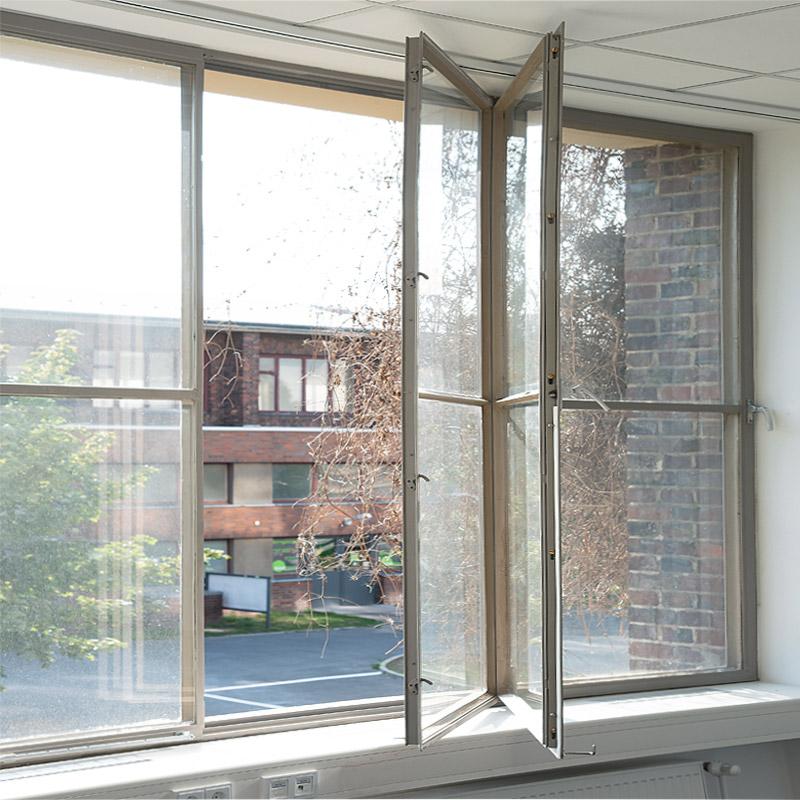 Ertüchtigung der Verbundfenster, Reinigungsöffnung