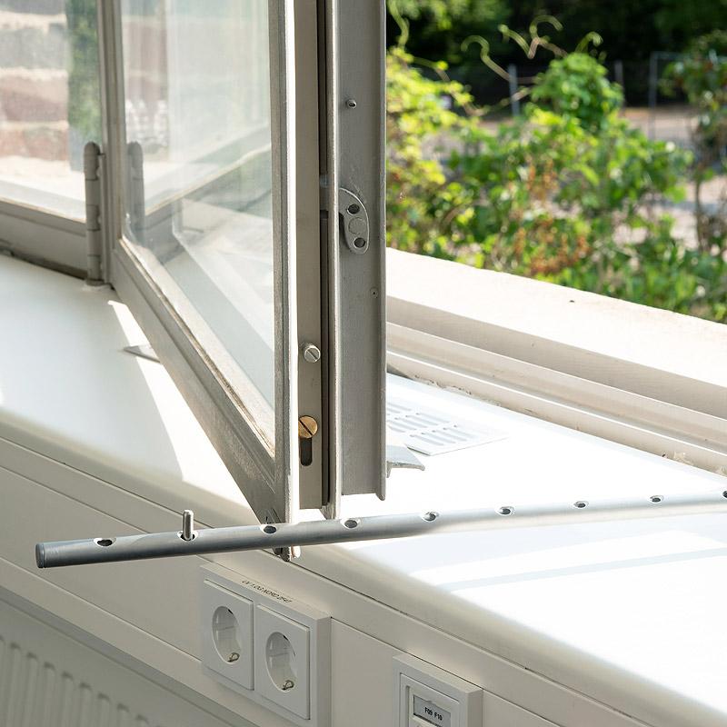 Ertüchtigung der Verbundfenster, Windfeststellung in Sonderfertigung