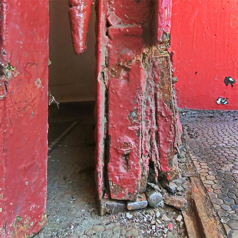Restaurierung Eingangstüranlage Ausgangssituation