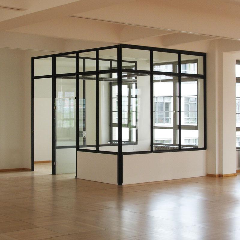 Stahl Glas Raumteiler